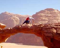 Wadi Rum - Rock Bridge