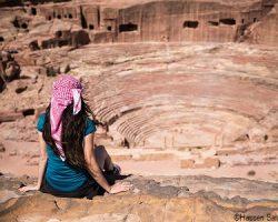 Petra -amphitheater